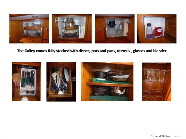 Galley Ready to Sail